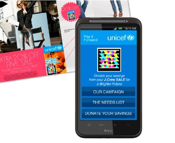 Wspieraj UNICEF skanując kody